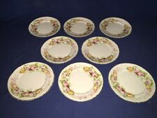 """7 J.H.Wetherby & Sons, Hanley, England ~ 8"""" Salad Plates ~ Excellent"""