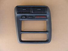 97-99 Camaro Radio A/C Trim Bezel Med Gray w/ SGS Switch 102215