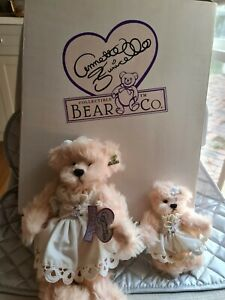 """Annette Funnicello Rare """"Mommy & Me"""" Limited Edtion Teddy"""