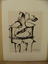DE KOONING - LITHOGRAPHY WITH C.O.A.