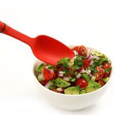 NORPRO GRIP-Ez Mini Solid Spoon, High heat resistant spoon RED NP1697 N