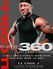 LL COOL J'S PLATINUM 360 DIET AND LIFESTYLE ~ PAPERBACK ~ NEW