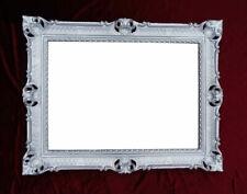 Miroirs décoratifs styles baroques/rococo argentés pour la maison