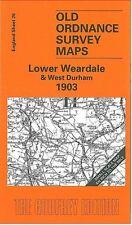 Map of Lower WEARDALE & West Durham 1903
