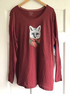 Columbia Maroon Little Foxy Long Sleeve Shirt Womens 3X