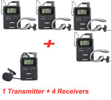 200M 815-823MHZ Wireless Tour Guide/Monitoring system for Hajj church 1T4R EXMAX