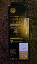 GE LED BULB Vintage style Amber Glass  CAC AMBR 25w / 3W