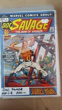 Alternative comic lot doc savage 1-8 nm bagged boarded 1972