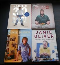 JAMIE OLIVER X 4 !! The Naked Chef, 30 Minute Meals, Ministry of Food & Return