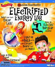 ELECTRIFIED ENERGY LAB - 28 EDUCATIONAL EXPERIMENTS SCIENTIFIC EXPLORER KIT