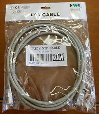 Wiretek - LAN Cable- RJ-45-8P8C*2, Cat.5E, STP Cable, 2 Meters- Lot of  14- NEW