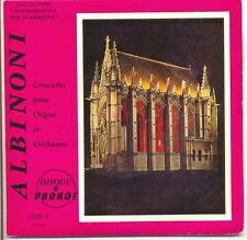 ALBINONI 33T 17 cm CONCERTO FOR ORGAN AND ORCHESTRE - PARADE CLASSICAL F Reduced