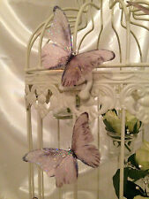 Wedding Butterfly Decorations Accessories 10 Sparkling Champagne hand made