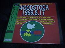 WOODSTOCK 1969.8.17 Japan LD WITH OBI