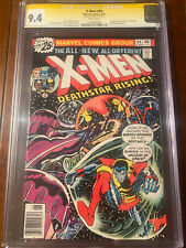 X-MEN #99 6/76 CGC 9.4 WHITE PAGES SS STAN LEE! FIRST BLACK TOM CASSIDY!! NICE!!