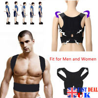 POSTURE CORRECTOR SUPPORT MAGNETIC LUMBAR BACK SHOULDER FOR MEN WOMEN BRACE BELT