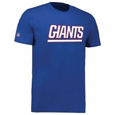 New York Giants Team Wordmark Core NFL T-Shirt - New w/Tags Officially Licenced
