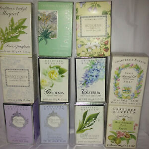 crabtree evelyn goatmilk, buttermilk, cold cream, single soap, one soap