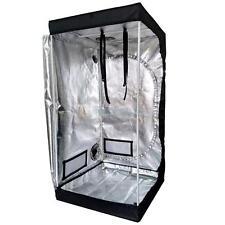 "32""x 32""x 63"" Grow Tent 100% Reflective Mylar Hydroponics Indoor Plant Growing"