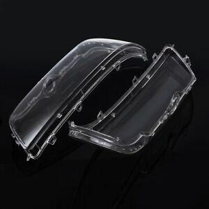 Pair Headlight Lamp Lens Shell Covers For BMW E39 Facelift 96-03 525i 528i 530i