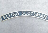 FLYING SCOTSMAN RAILWAY SIGN.Cast iron. New.