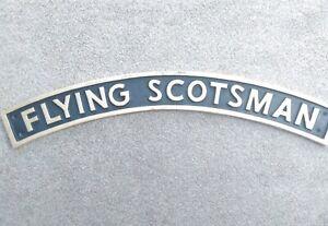 FLYING SCOTSMAN RAILWAY SIGN.Cast iron. New.