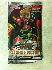 YuGiOh 5D's Extreme Victory 9-Card Booster Pack Sealed English 1st Edition