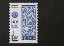 50th aniversario del primer sello del Club de Leones de Australia, 1997, Australia, estampillada sin montar o nunca montada