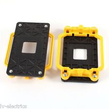 Amarillo AMD Base de montaje del soporte del ventilador de la CPU AM2 motherboard de procesador pc 940 Socket