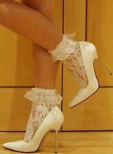 Medias y calcetines de mujer de encaje talla S