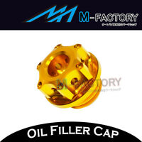 Gold CNC Engine Oil Filler Cap Plug Fit Yamaha T-Max 530 SX/DX 2017 17
