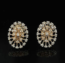 Diamond Earrings Vintage Fine Jewellery (1980s)