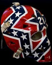 Goalie Mask of Mike Palmateer Washington Capitals 8x10 Photo