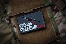 Raining Freedom 3D PVC Morale Patch Moeguns AC-130 Spectre Gunship Spooky