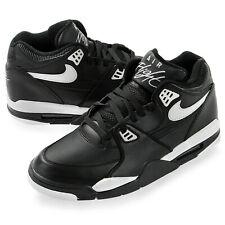 Wow! Nike Air Flight 89 Basketball Shoes Black/Gray Size 9.0