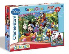 Walt Disney Puzzle Mickey Mouse Maison Club 40tlg. Pour Enfants De Sol 100x70
