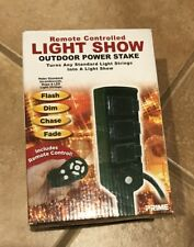 Prime Remote Controlled Light Show Outdoor Power
