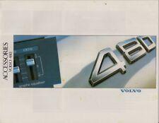 Volvo 480 ES Accessories 1988 UK Market Sales Brochure