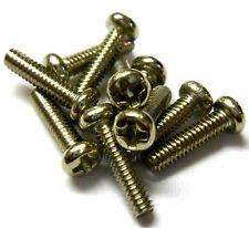 L11345 M2 De 2 Mm X 8 Mm De Largo Botón Rosca métrica de acero en plata X 10