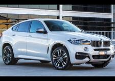 2015 BMW X6 M50D NEW A2 CANVAS GICLEE ART PRINT POSTER FRAMED
