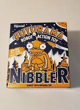 New Official Futurama Nibbler Tin Robot Action Toy Wind-Up Rare