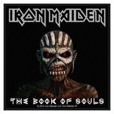 Iron Maiden - The Book Of Souls Patch Aufnäher Heavy Metal Kutte Rock NWoBHM NEU