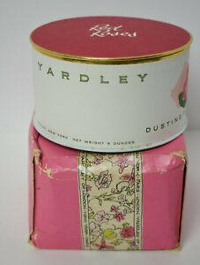 Vintage NOS Yardley Red Roses Fragrant Dusting Powder 5oz