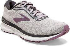 Brooks Women's Adrenaline GTS 20 Running Shoe, Grey/White/Valerian, 9 B(M) US