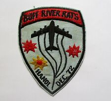 Patch - US Air Force Bombing Ops BUFF RIVER RATS, HA NOI December 1972 Patch