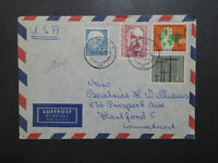 Germany 1955 Cover to USA w/ Few Better Issues - Z9492