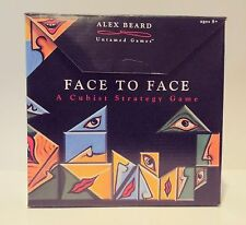 Face To Face:A Cubist Strategy Game by Fundex - 2009 Edition - Gently Used