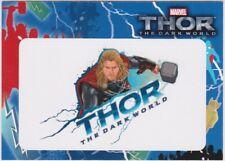 Marvel Thor The Dark World Sticker Insert T2-38
