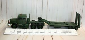 CODE 3 ARTICULATED TRANSPORTER WITH CORGI SCAMMELL UNIT AND A DINKY TRAILER