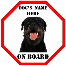 Unbranded Rottweiler Signs & Plaques